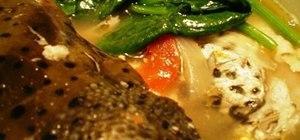 Make Filipino sinigang na ulo ng salmon