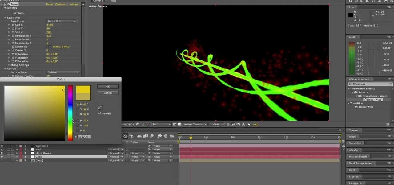 Tutorial: Creating a 3D Laser in After Effects « DIY
