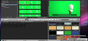 Chroma key & replace backgrounds in iMovie '09