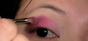 "Create a Molly Ringwald ""Pretty in Pink"" makeup look"