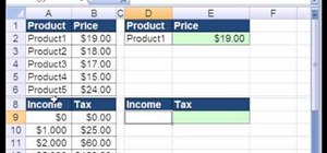 Use VLOOKUP function formula in MS Excel