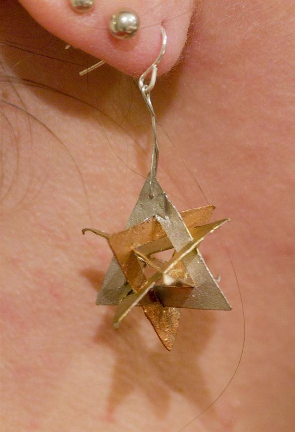Orderly Tangle Earrings