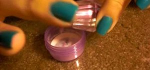 Make your own color acylic for nails