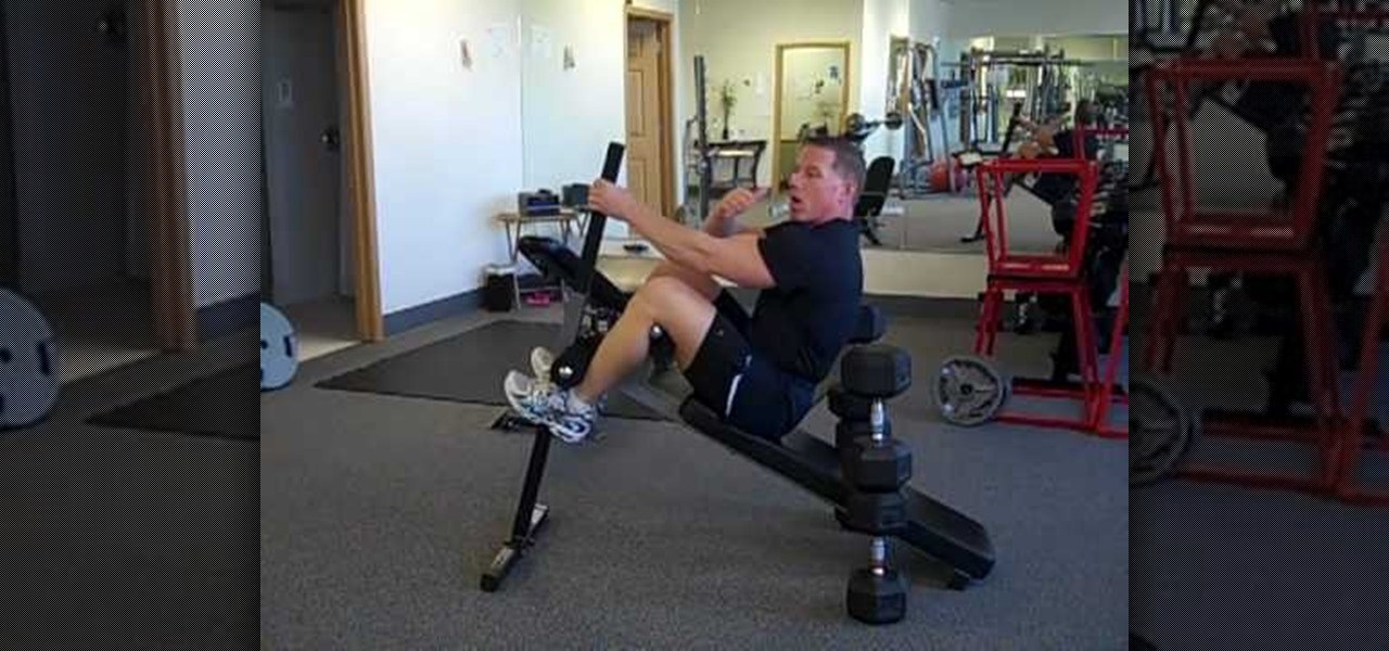 How To Do Decline Dumbbell Chest Presses With Self Spotting