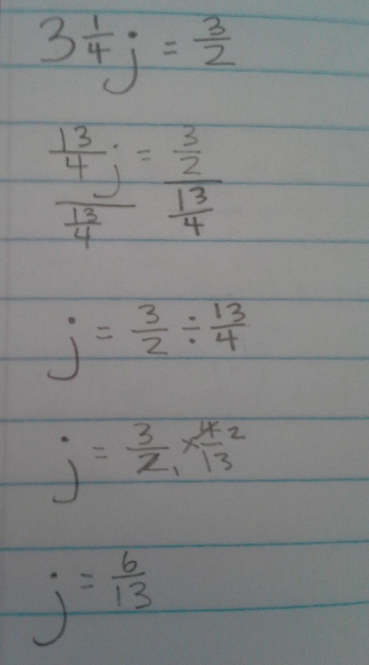 How to Solve Equations with Fractions