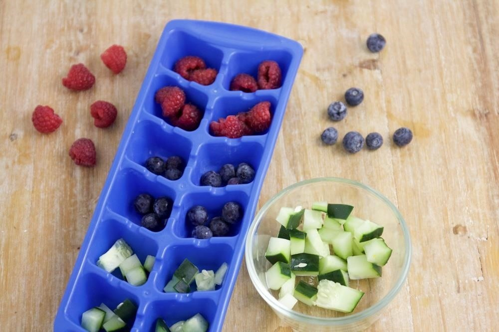 Add a Burst of Flavor to Your Drinks with These Fruity Ice Cubes