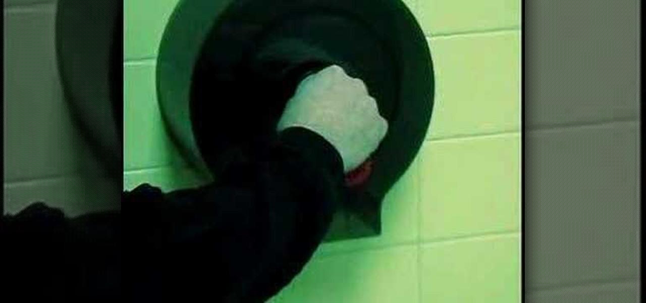 Install Toilet Roll Holder