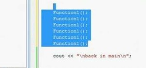 Use void functions with C++