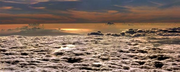 Cloud Photography Challenge: Sunset at Haleakala (Maui)