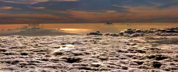 Cloud Photography Challenge: Sunset at Haleakala (Maui)