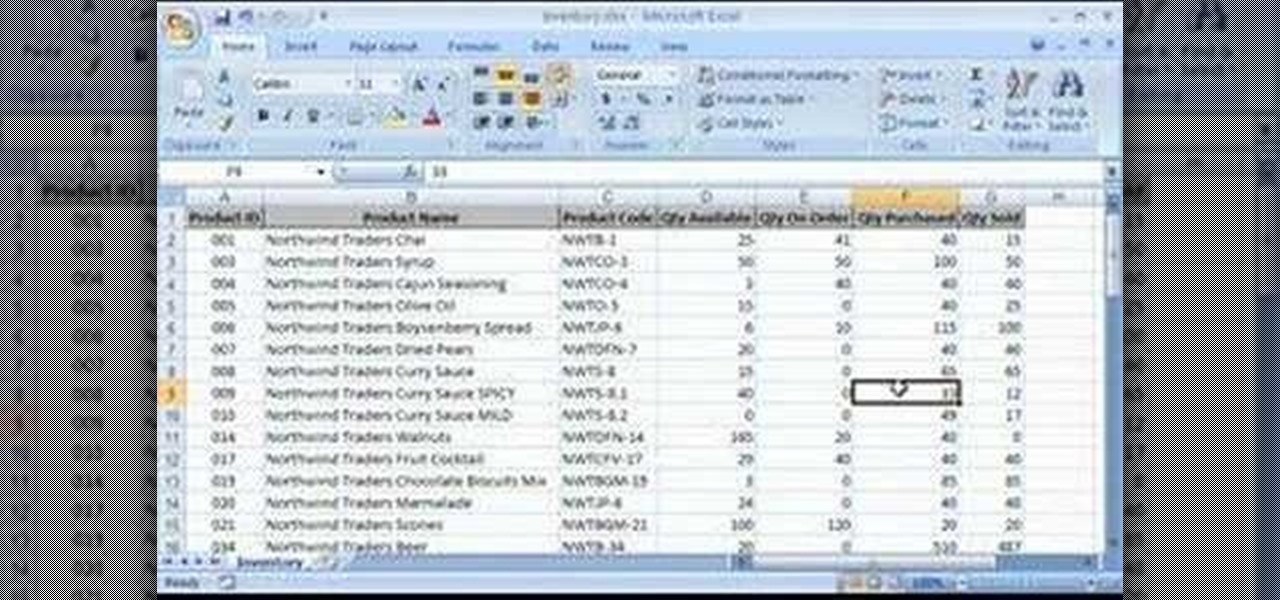 How to Change columns from letters to numbers in Excel 2007