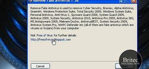 Remove fake antivirus applications from your Windows PC