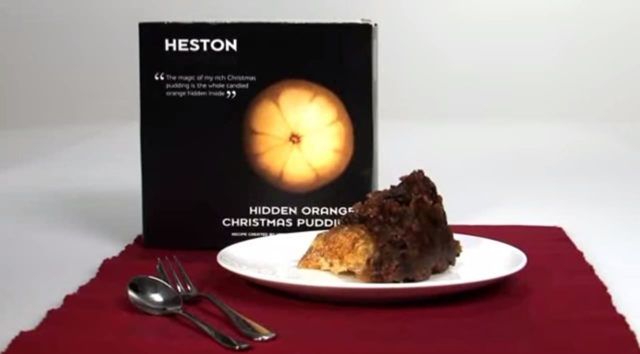 How to Replicate the Famous Hidden Orange Christmas Pudding by Heston