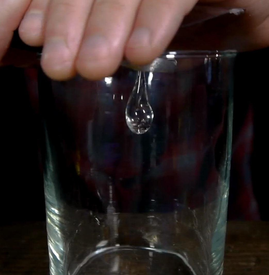 How to Make Prince Rupert's Drops (Glass That Fractures at the Speed of High Explosives)