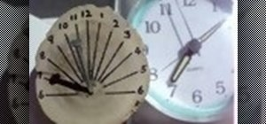 Make a pocket sundial