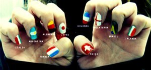 Give Yourself a World Cup Manicure