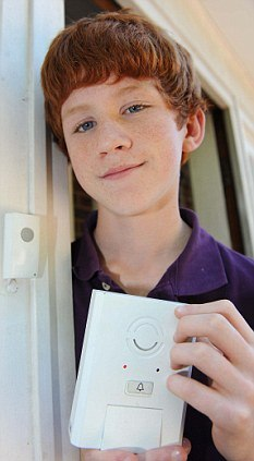 Schoolboy Invents Burglar-Deterring, Post Office-Friendly Doorbell