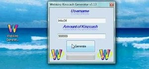 Get kinzcash and items for free on WebKinz (11/23/2010)