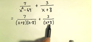 Add and subtract rational expressions in algebra