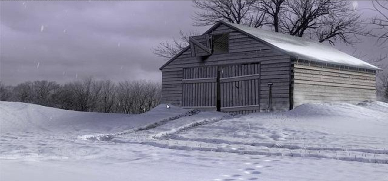 How to Create a realistic snow scene using Blender