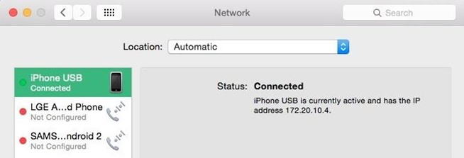 how to forget an internet connection on mac