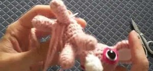Whip stitch and wind off when crocheting amigurumi