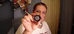Create a smoky blue drag queen eye makeup look