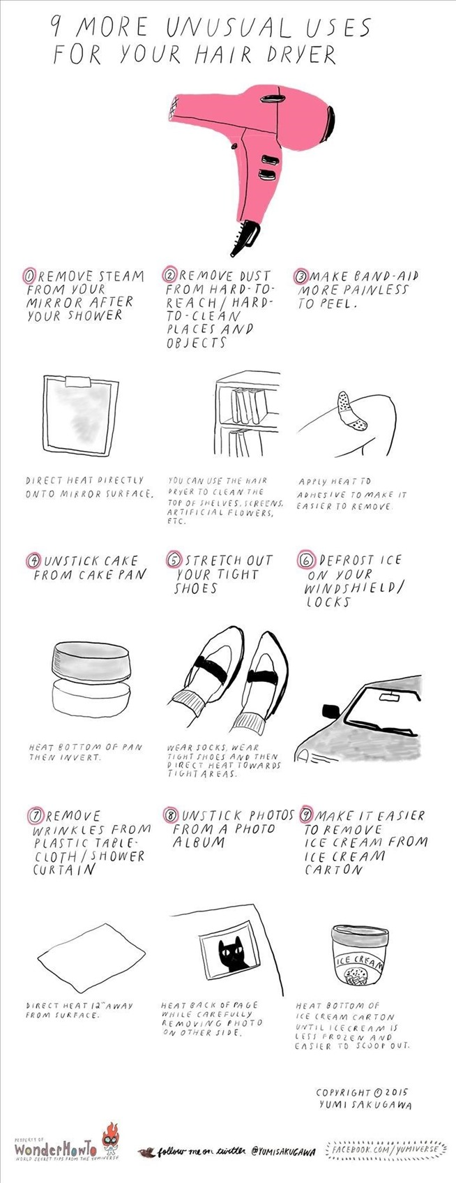 9 more unusual uses for your hair dryer the secret yumiverse - Unusual uses for a hair dryer ...