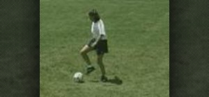 Practice rollover drills for soccer