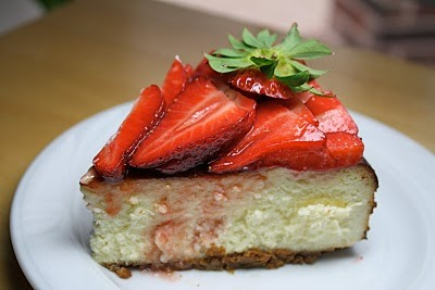 RECIPE: Grandma's Strawberry Cheesecake