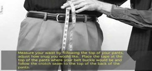 Measure your crotch