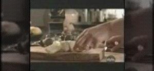 Grill a halloumi appetizer