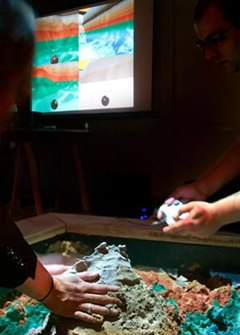 Project Mimicry: Kinect Transforms Real Sandbox into Virtual Game