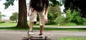 Do a Boneless on a skateboard