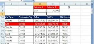 Use the Advanced Filter tool to extract data in Excel