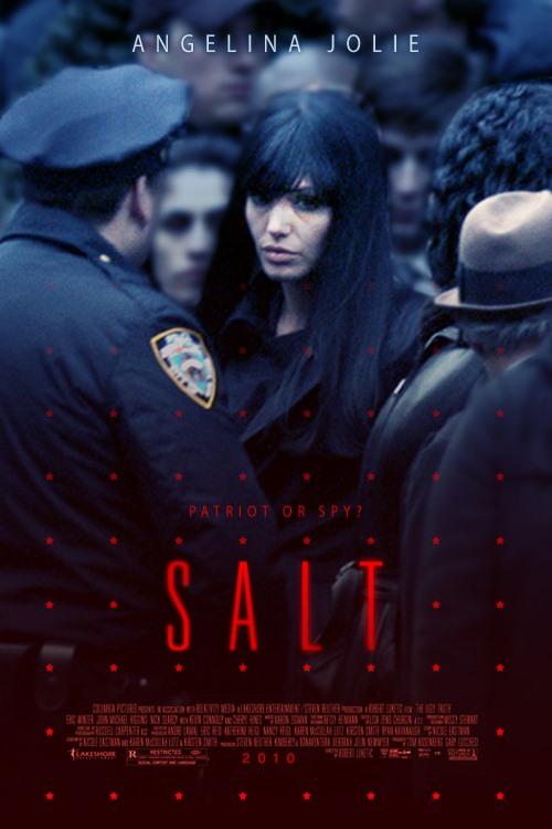 Salt 2010 171 Movie Poster Design