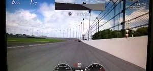 Win the NASCAR Special Race in Gran Turismo 5 with drafting
