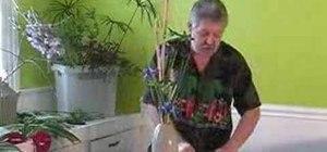 Design an elegant iris arrangement for your home