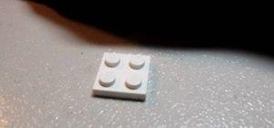 Build a LEGO sink