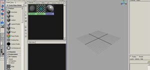 Use the hypershade in Maya to create materials