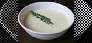 Make a mellow garlic cream sauce
