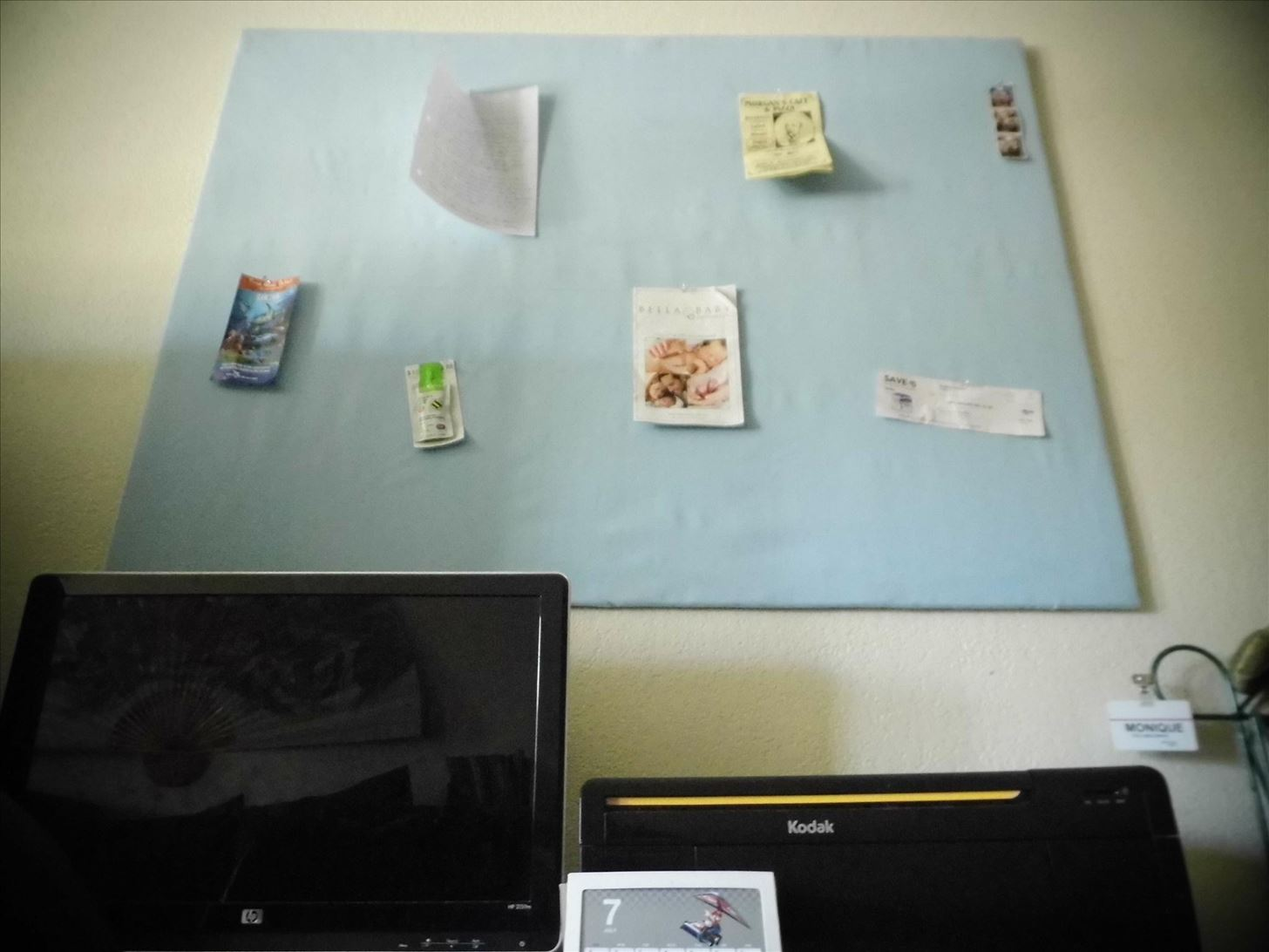 How to Make a Personalized Home Bulletin Board for Cheap