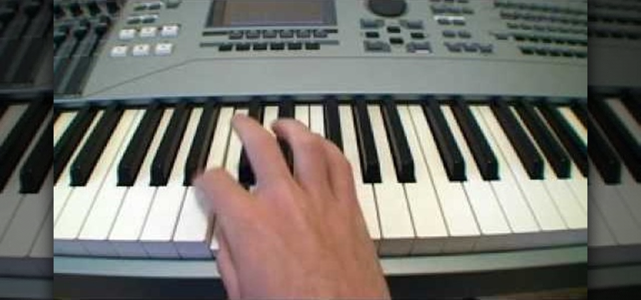 How To Utilize The Crossing Over Piano Technique Piano Keyboard