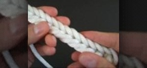 Tie a Military Bugle cord decorative knot