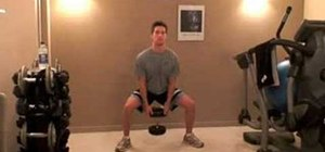 Do sumo squat for weightlifting