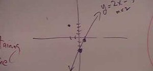 Find the equation of a perpendicular line easily