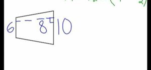 Calculate the area of a trapezoid
