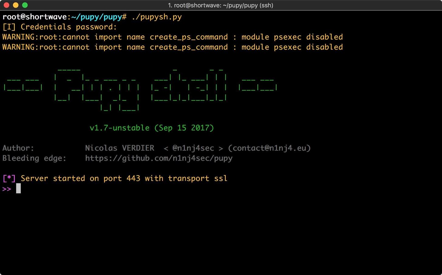 How to Use Pupy, a Linux Remote Access Tool « Null Byte