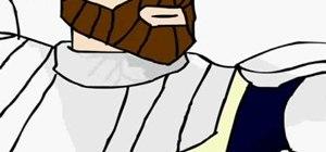 Paint Obi-Wan Kenobi from Star Wars
