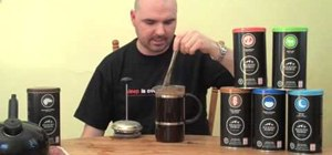 Make a better cup of coffee using a French press